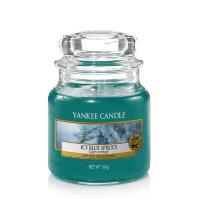 Icy Blue Spruce kis üveggyertya