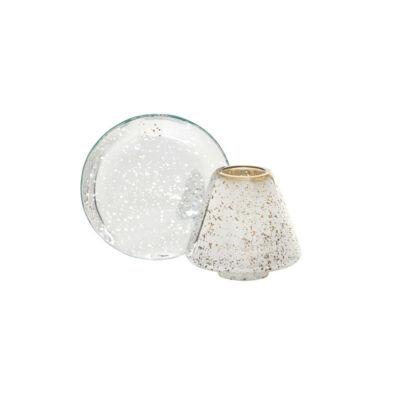 Shimmer Glow kis búra és tányér