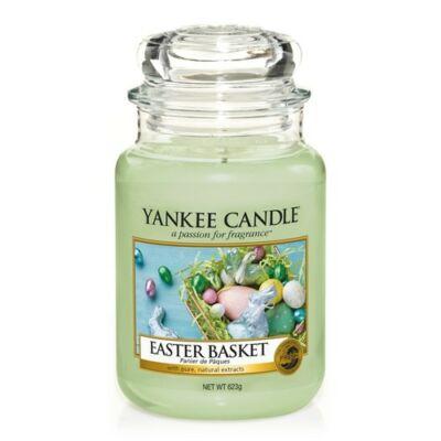 Easter Basket nagy üveggyertya