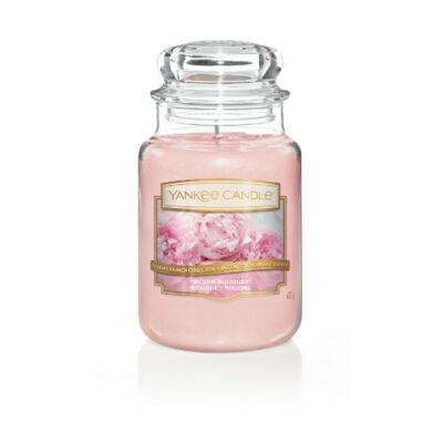 Blush Bouquet nagy üveggyertya