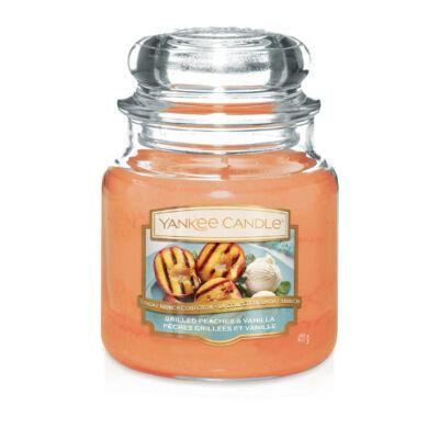 Grilled Peaches & Vanilla közepes üveggyertya