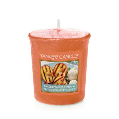 Grilled Peaches & Vanilla mintagyertya