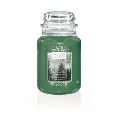 Evergreen Mist nagy üveggyertya