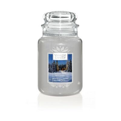 Candlelit Cabin nagy üveggyertya