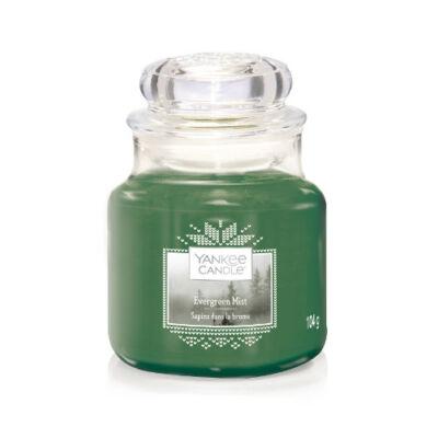 Evergreen Mist kis üveggyertya