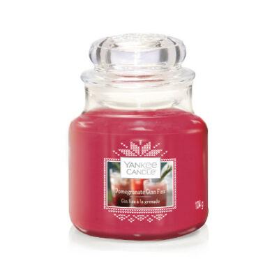Pomegranate & Gin Fizz kis üveggyertya