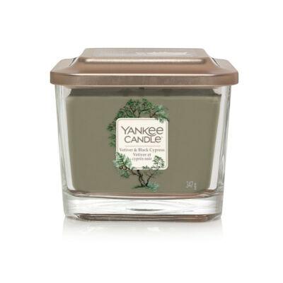 Vetiver & Black Cypress közepes üveggyertya