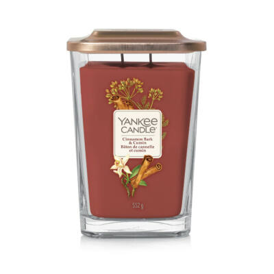 Cinnamon Bark & Cumin nagy üveggyertya