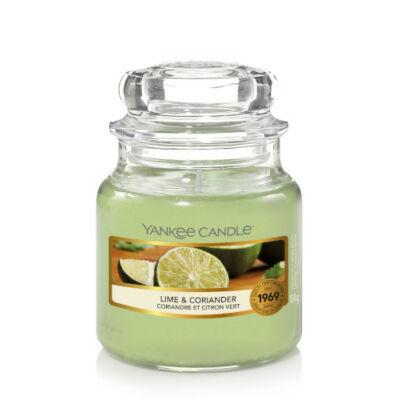 Lime & Coriander kis üveggyertya