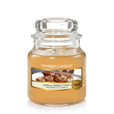 Vanilla French Toast kis üveggyertya