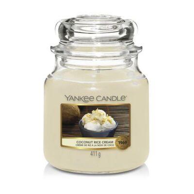 Coconut Rice Cream közepes üveggyertya