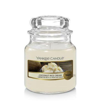 Coconut Rice Cream kis üveggyertya