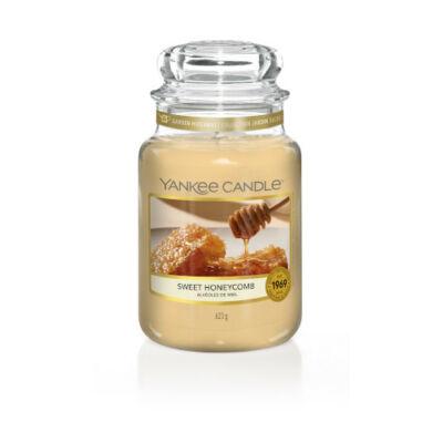 Sweet Honeycomb nagy üveggyertya