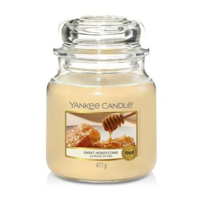 Sweet Honeycomb közepes üveggyertya