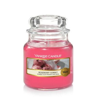 Roseberry Sorbet kis üveggyertya