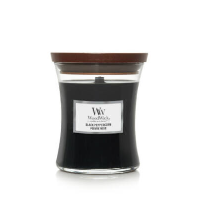 Black Peppercorn közepes üveggyertya
