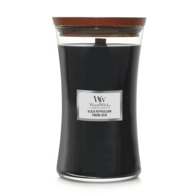 Black Peppercorn nagy üveggyertya