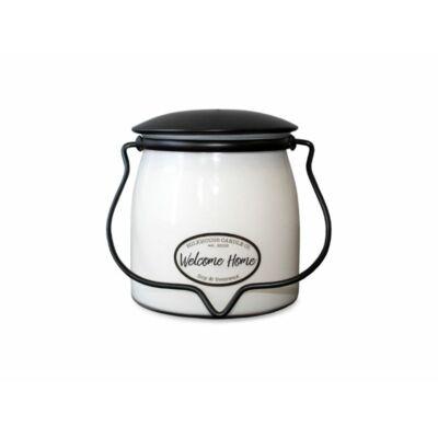 Welcome Home Creamery közepes üveggyertya