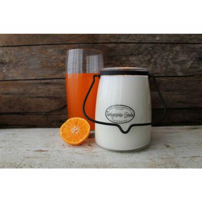 Tangerine Soda Creamery nagy üveggyertya