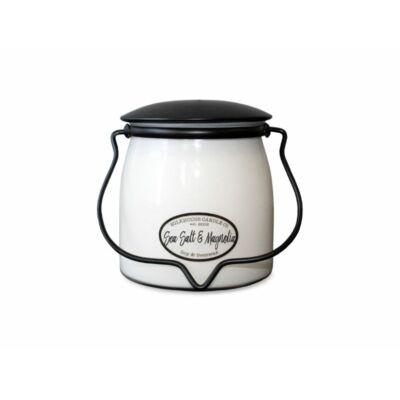 Sea Salt & Magnolia Creamery közepes üveggyertya
