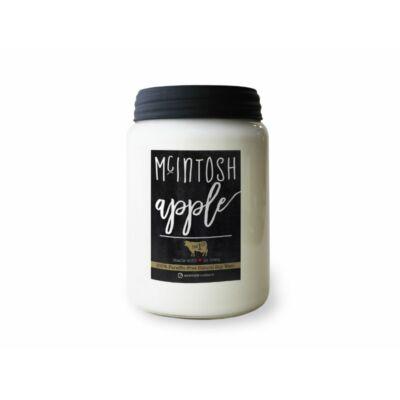 McIntosh Apple Farmhouse nagy üveggyertya