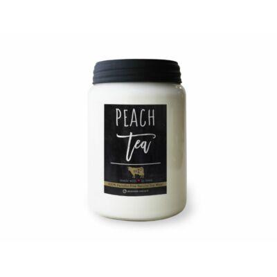 Peach Tea Farmhouse nagy üveggyertya