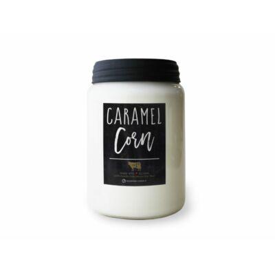 Caramel Corn Farmhouse nagy üveggyertya