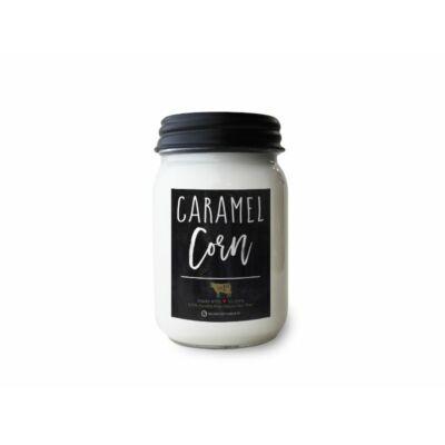 Caramel Corn Farmhouse közepes üveggyertya