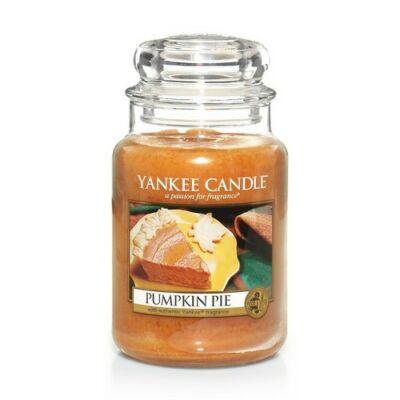 Pumpkin Pie nagy üveggyertya