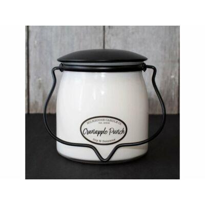 Cranapple Punch Creamery közepes üveggyertya