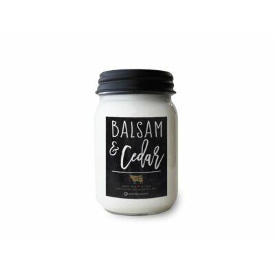 Balsam & Cedar Farmhouse közepes üveggyertya