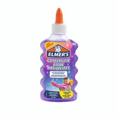 Elmer's glitteres ragasztó ezüst 177 ml
