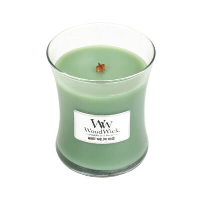 White Willow Moss közepes üveggyertya