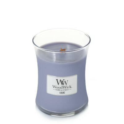 Lilac közepes üveggyertya