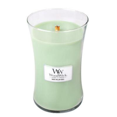 White Willow Moss nagy üveggyertya