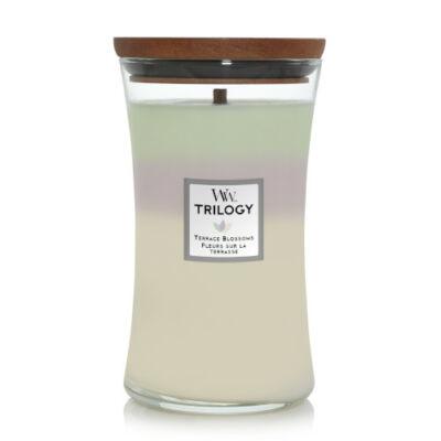 Terrace Blossoms Trilogy nagy üveggyertya