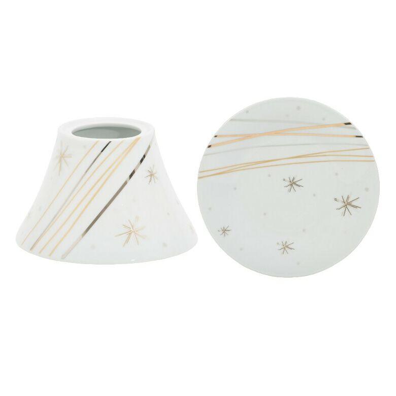 Starry Night Ceramic nagy búra és tányér