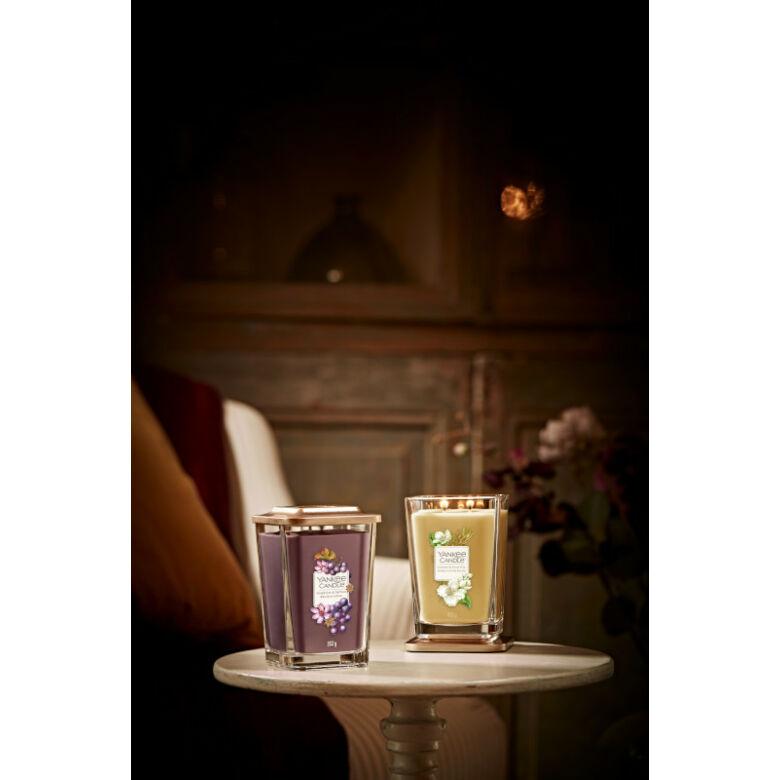 Grapevine & Saffron nagy üveggyertya
