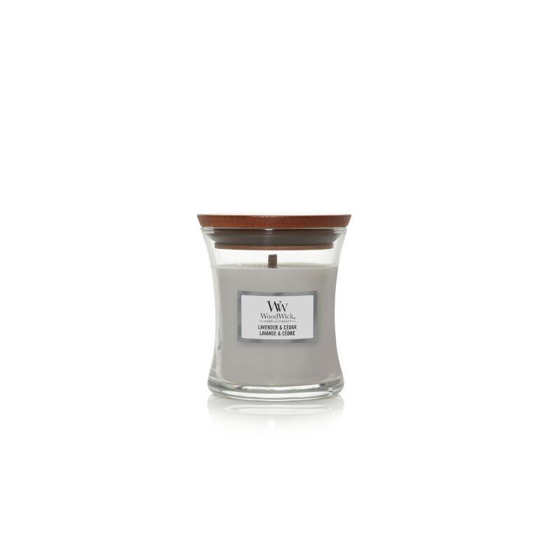 Lavender & Cedar kis üveggyertya