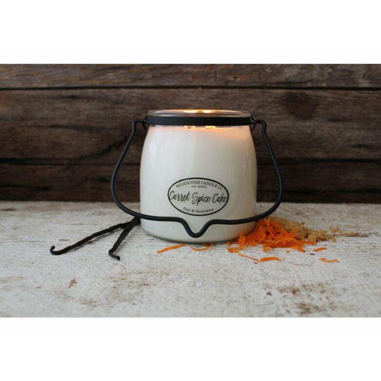 Carrot Spice Cake Creamery közepes üveggyertya