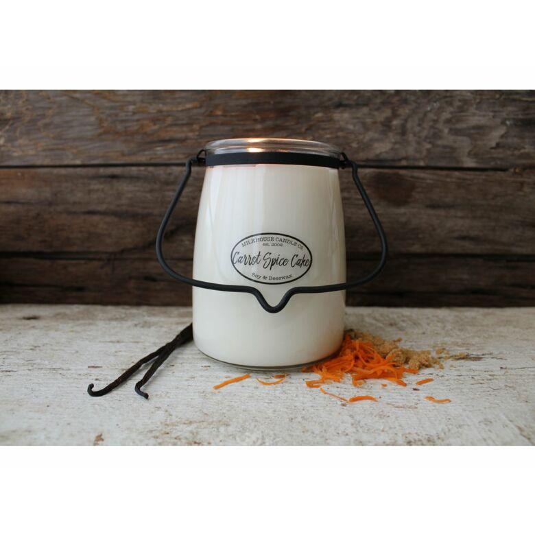 Carrot Spice Cake Creamery nagy üveggyertya