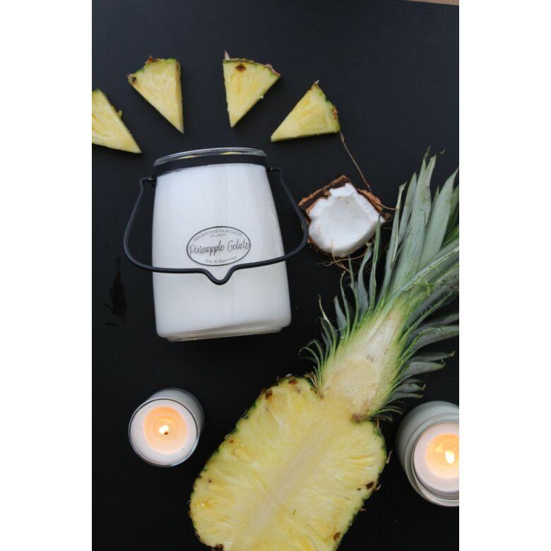 Pineapple Gelato Creamery nagy üveggyertya