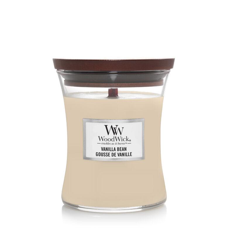 Vanilla Bean közepes üveggyertya